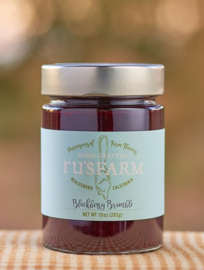 Ru's Farm Blackberry Bramble Jam