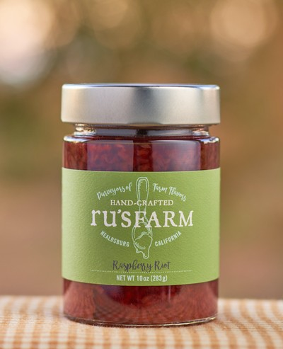 Ru's Farm Raspberry Riot Jam