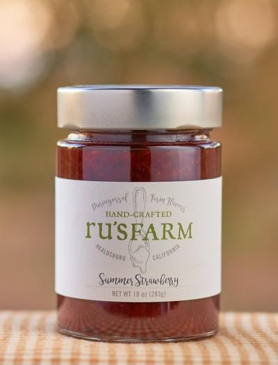 Ru's Farm Summer Strawberry Jam