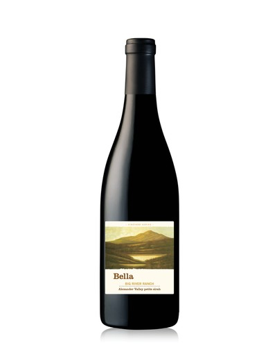 2014 Big River Ranch Alexander Valley petite sirah